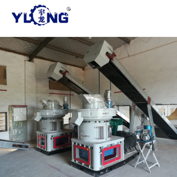 Hard Wood and Rice Husk Pellet Machine Line