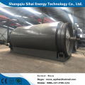 Pyrolytic Machinery of Used Rubber Recycling
