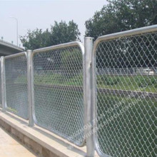 Electro Galvanized Chain Link Fence 55mm