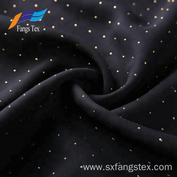 Islamic Muslim Polyester Dot Voile Chiffon Drop Fabric