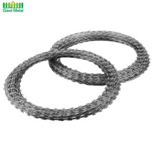 Steel Single Loop Military Proof Barbed Razor Wire