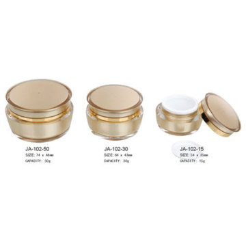 Cosmetic Jars Round Plastic Containers