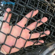 Factory Woven 5 Foot Black Chain link fence