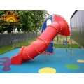 Backyard Straight Tube Slide Equipment For Children