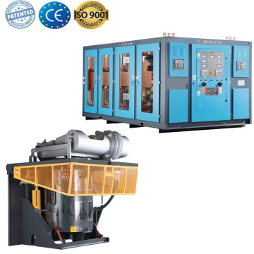 Power frequency induction copper melting furnace design