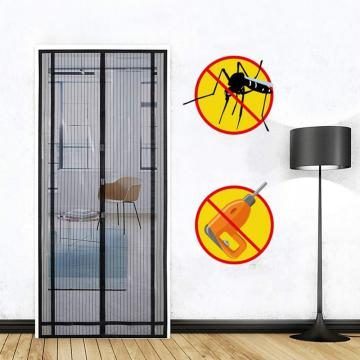 Hot sell hand-free magnetic mesh door curtain
