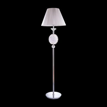 modern LED crystal floor lamp