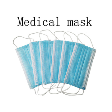 Meltblown non-woven 3 layers civilian protective mask