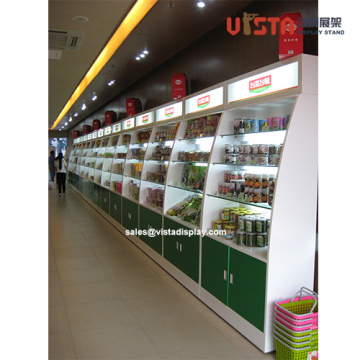 Customized Retail Store Wooden Display Fixtures