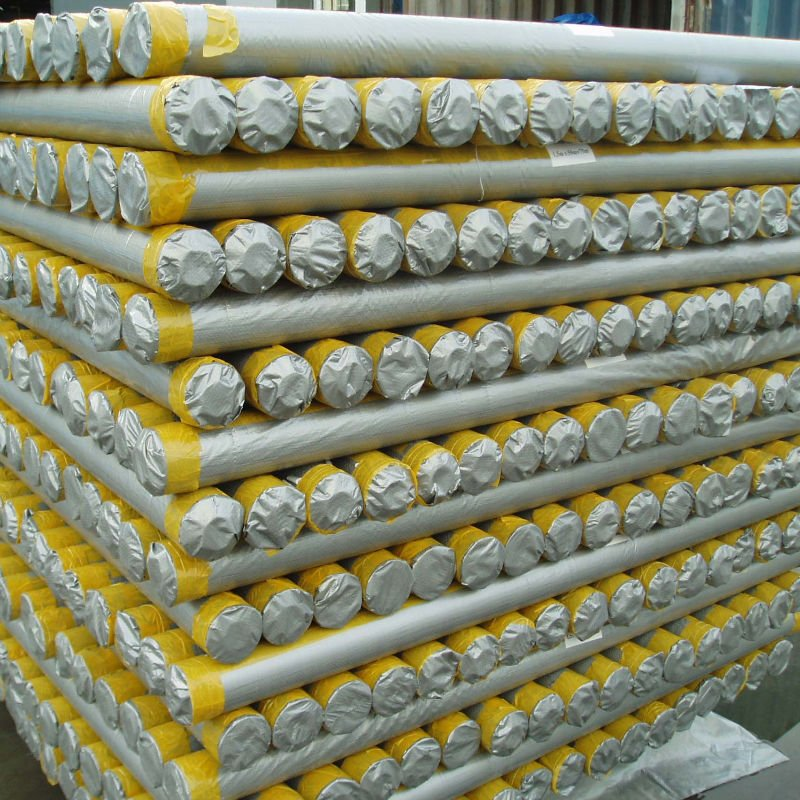 PE tarpaulin roll packing