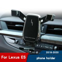 Car Holder for Car for Lexus ES350 300 2018 2019 2020 Interior Modified Navigation Bracket air vent Car phone holder Accessories