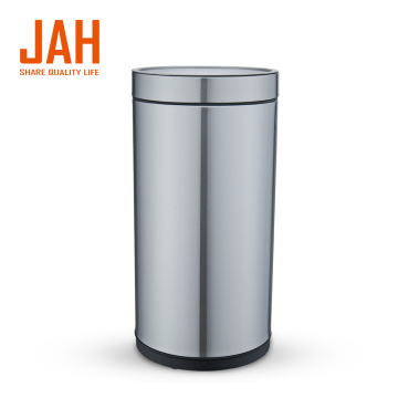 JAH 430 Stainless Steel Wastepaper Basket for Home