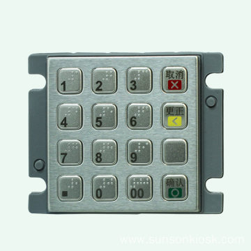 Numeric Encrypted PIN pad