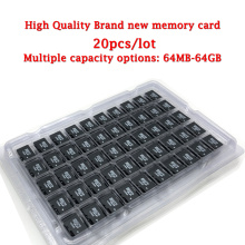 20pcs/lot brand new micro card SD card 64MB 128MB 256MB 512MB 1GB 2GB class10 4GB 8GB 16GB 32GB 64GB Micro Memory TF Card