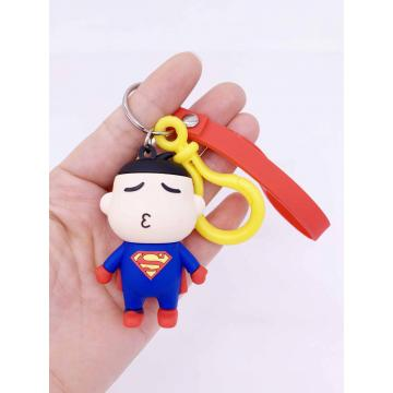 Movie Character Rubber Keychain