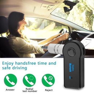 Car Aux Wireless Receiver 3.5Mm Wireless Car Audio Player Wireless Handsfree Call Adapter Aux Receiver 3.5Mm