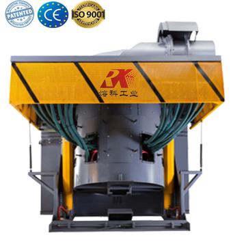 Small electric furnace for melting metals
