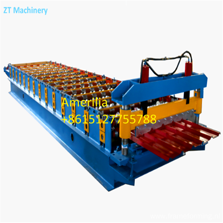 Roll forming lines for trapezoidal sheets
