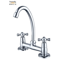 Bathroom  Double Handles Faucet Basin Mixer