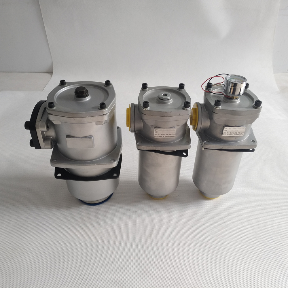 RF return oil filter