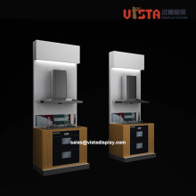 Customized Home Appliances Wooden Display Fixtures