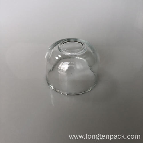 Bowl glass candle cup