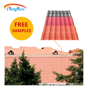 Fireproof fiberglass mesh Spanish Roof Tile