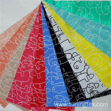 Four Way Spandex Picasso Design Print