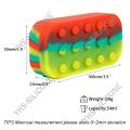 1pcs 34ML silicone bho container 6+1 Non-stick Silicone Container Large Jar heb silicone container for wax