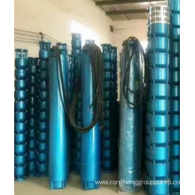 Submersible pump in oil field