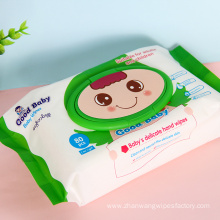 Wholesale Hand-Mouth Unscented Baby Wipes