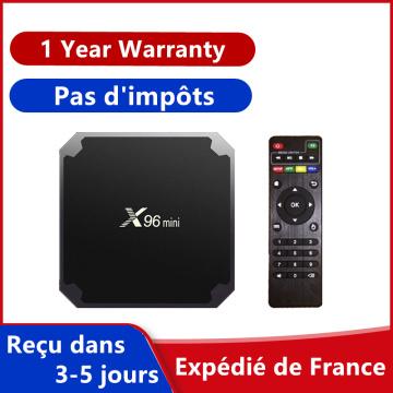 Best android tv box x96 mini iptv box Amlogic S905W 2G 16G x96mini smart ip tv Android 9.0 Europe set top box