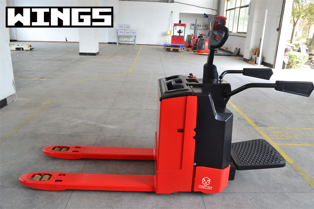 wings machinery electric pallet truck
