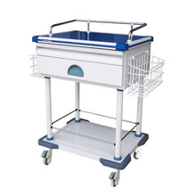 Hospital Steel Scratchproof Instrument Trolley