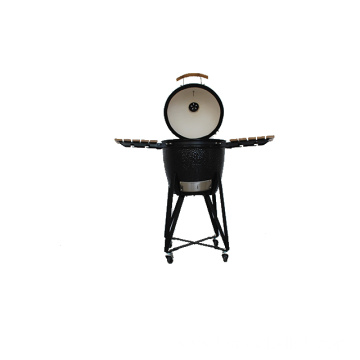 Egg Shaped Charcoal Ceramic BBQ Kamado Grill