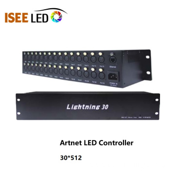 30ways Artnet Led DMX Controller Madrix Compatible