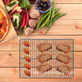 Stainless steel outdoor family grill picnic grill
