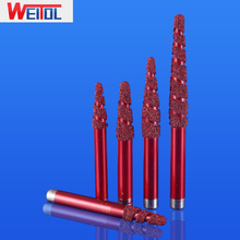 Weitol free shipping 1 pcs Multi Layer Vacuum Brazed Stone Bit cutter tools cutting tools