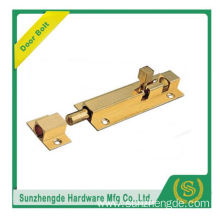 SDB-018BR Locks With Two Spring Woolden Door Bolts Zinc Alloy Copper Matrial