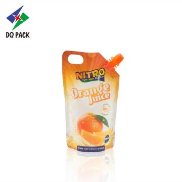 Flexible plastic doypack with spout pouch