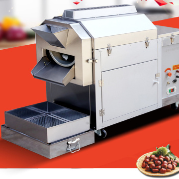 New Seed Roaster For Cocoa Bean Chickpea Macadamia Peanut Almond Cashew Commercial Nuts Roasting Machine