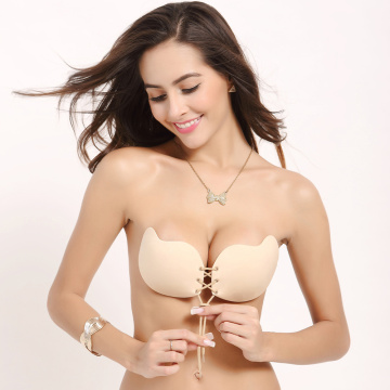 Silicone Strapless Push Up mango shape bras