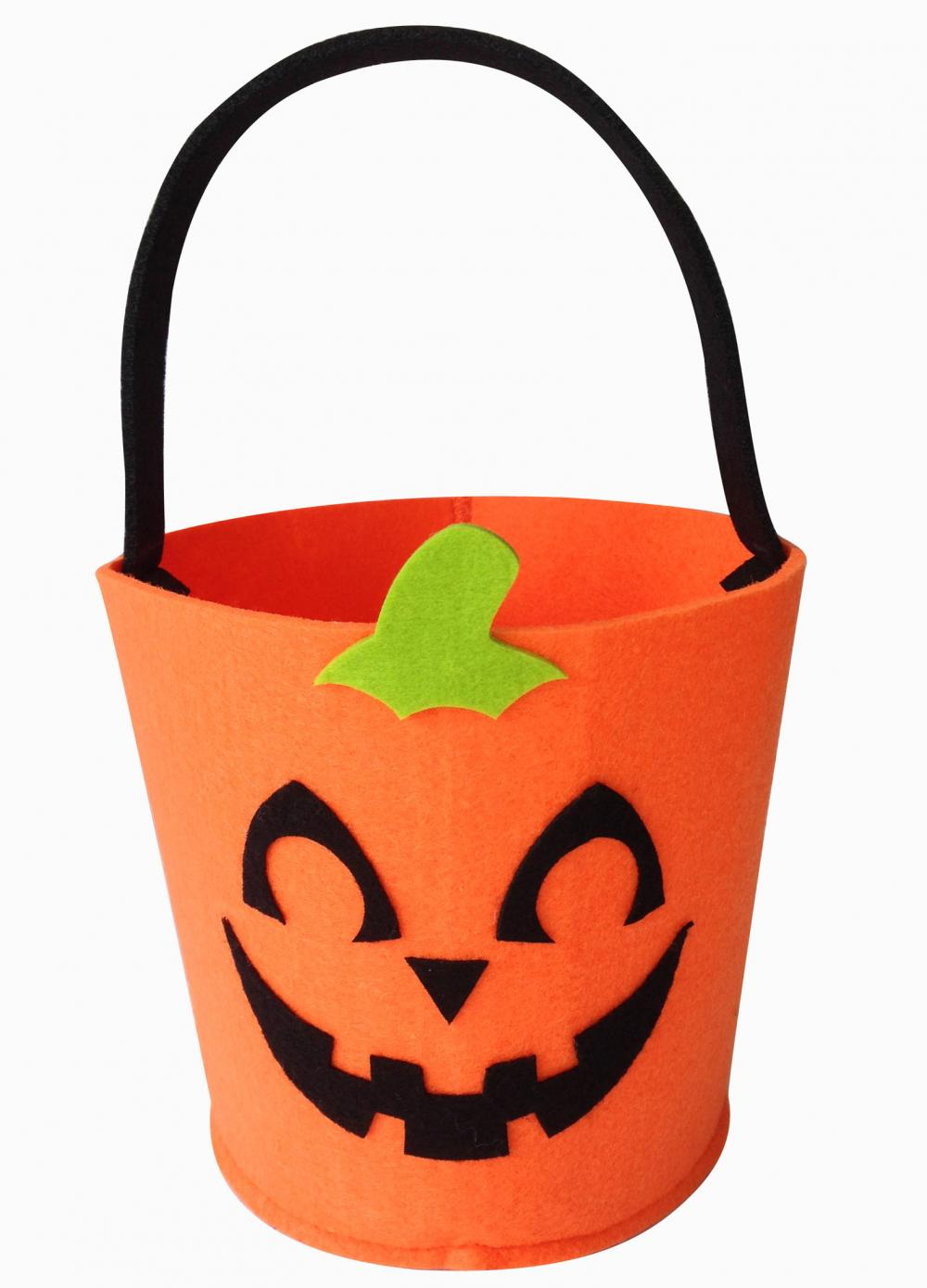 Halloween Felt Candy Bucket