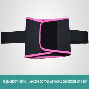 Lumbar back brace support slim waist belt