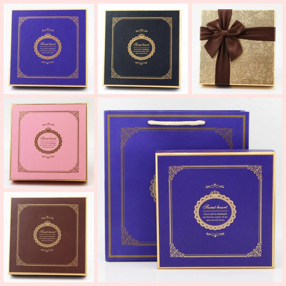 Fancy chocolate boxes box inserts for 12 packs