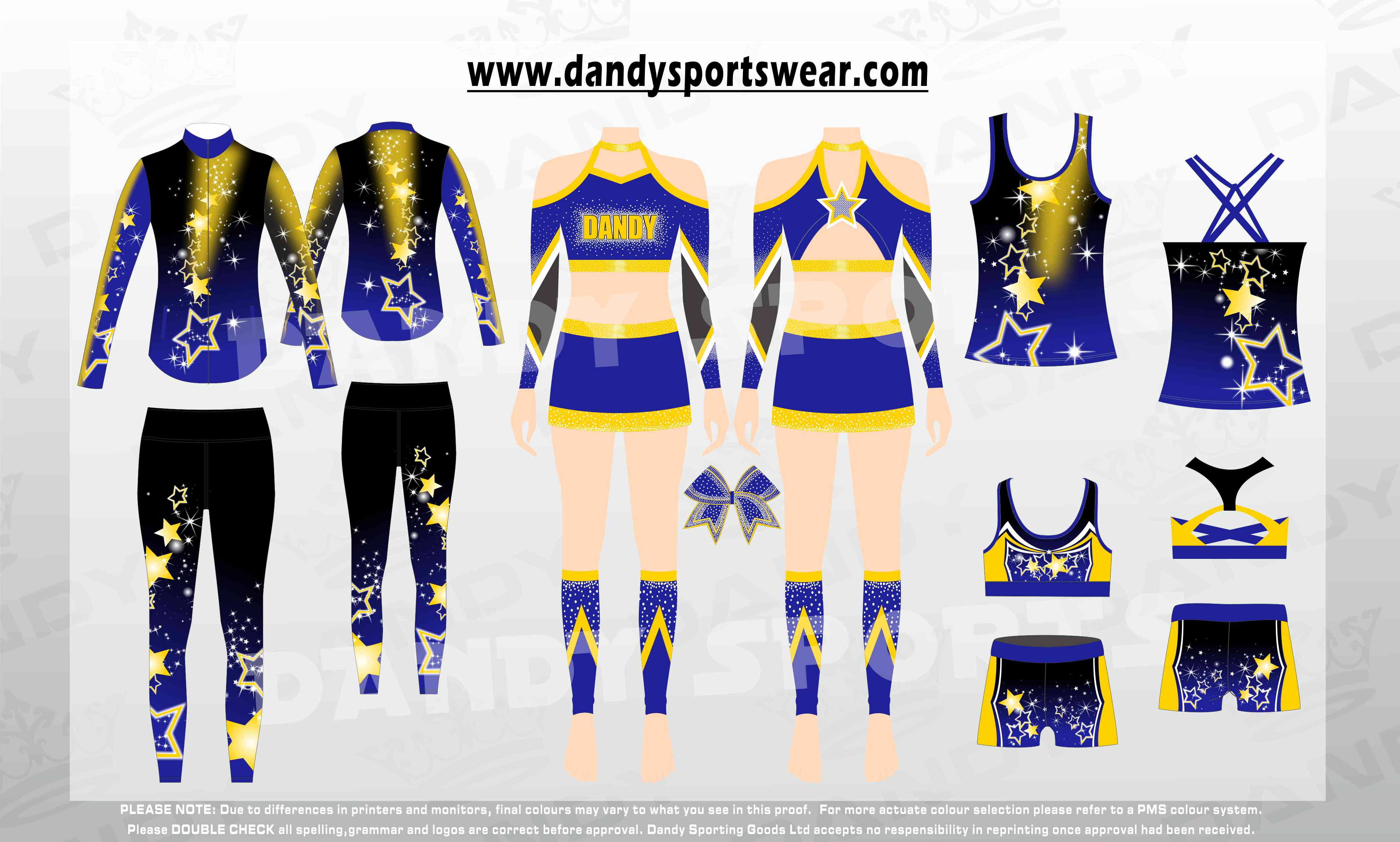 cheap cheer uniforms packages