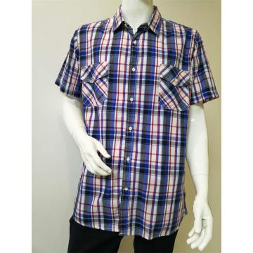 Men's Yarn Dye Casual Shirt