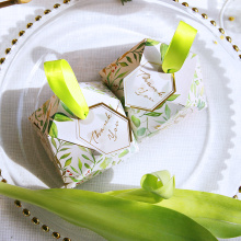 Green Malaysia cute candy packaging box