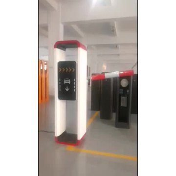 Automatic road security traffic barrier gate
