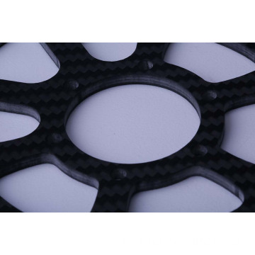 Light weight fashionable appearance carbon fiber parts